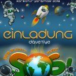 """Einladung Vernissage Karikaturenwettbewerb """"Der Planet ruft SOS"""" am 22.07.18, Filderstadt"""