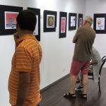 """Ausstellung Ergebnisse Karikaturenwettbewerb """"Der Planet ruft SOS"""", Vernissage am 22.07.18"""